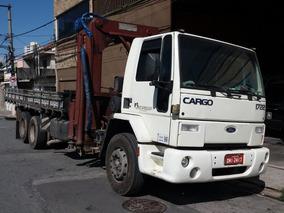 Caminhão Munck Ford Cargo 1722 Ano 2003