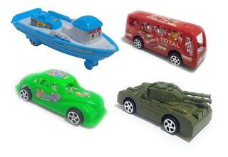 Kit 60 Brinquedo Carrinho Fricção Coleção Tam. 11cm Atacado