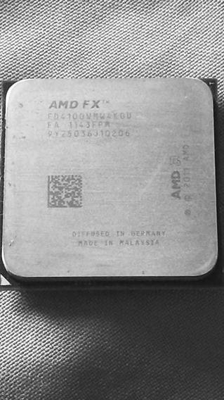 Amd Fx4100 3.6ghz Quad-core Cpu Processador Fx4100 Fd4100wm4