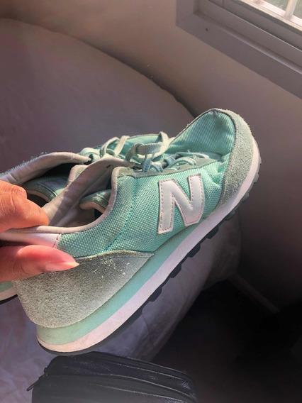 Tênis New Balance Verde Água