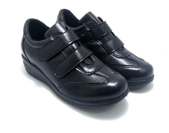 Sapato Feminino Ideal Esporao Confort Tenis Macio Promoçao