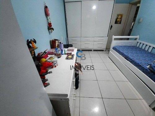 Imagem 1 de 14 de Apartamento À Venda, 70 M² Por R$ 330.000,00 - Campo Grande - Santos/sp - Ap7689