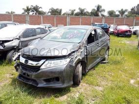 Honda City Lx 2014funciona Chocado Para Reparar..