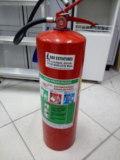 Extintor Água G