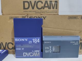 Sony PDV-184N Dvcam 184 Min Pack of 5