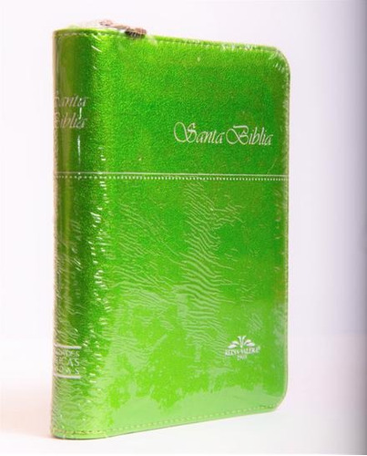 Imagen 1 de 1 de Biblia Rvr 1909  Bolsillo Ultrafina Color Verde