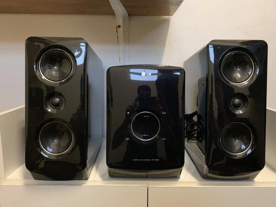 Micro System Lg Hi-fi Fa164 Aparelho De Som Com Caixas 160w