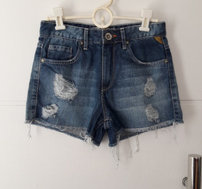 Shorts Jeans Feminino Khelf, 36