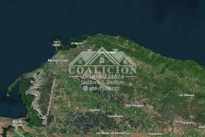 Coalición Vende 15 Millones Mts2 En Monte Cristi Con Playa-