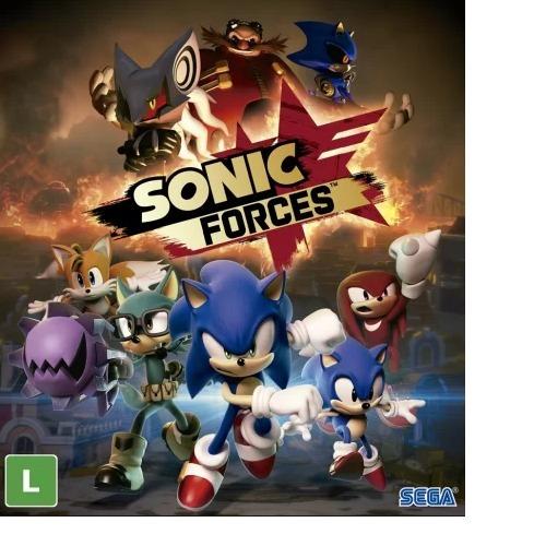 Sonic Force -pc-dvd(midia Fisica)