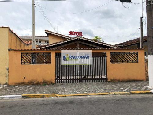 Casa Com 3 Dorms, Vila São Paulo, Mongaguá - R$ 280 Mil, Cod: 827762 - V827762