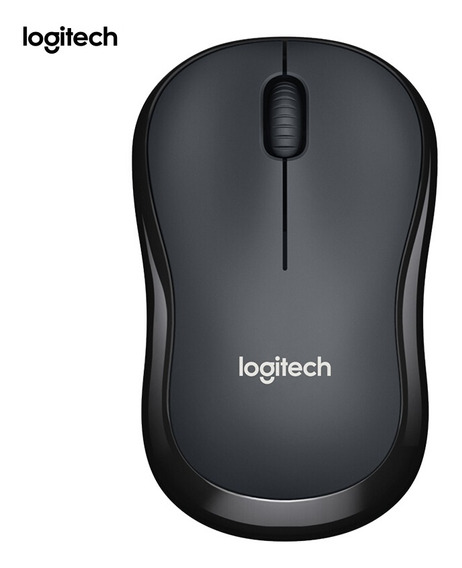 Logitech M220 Wireless Wifi Mouse Ergonômico Silencioso