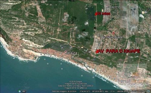 Imagem 1 de 8 de Terreno À Venda, 660 M² Por R$ 14.900,00 - Jacauna(aquiraz) - Aquiraz/ce - Te0064
