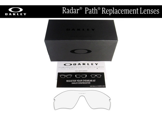 Mica De Reemplazo Para Oakley Radar Path Color Crystal Clear