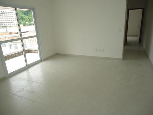 Apartamento Com 2 Dormitórios À Venda, 76 M² Por R$ 425.000,00 - Marapé - Santos/sp - Ap5697