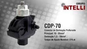 Conector De Derivação Perfurante Cdp 70 Intelli 10mm A 95mm