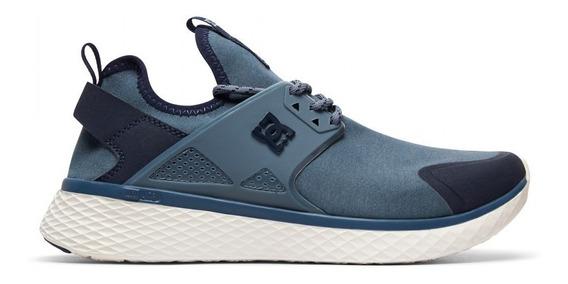 Zapatillas Dc Meridian Prestige (ba9) Azul Acero Running
