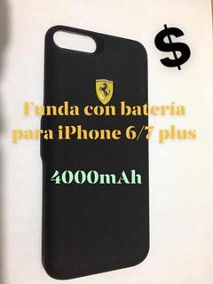 Funda Con Batería Para iPhone 6/7 Plus