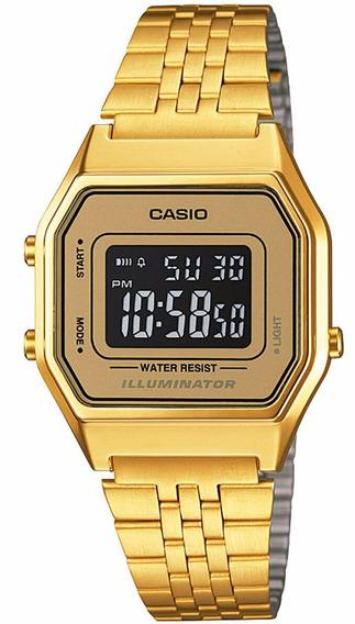 Relógio Casio Feminino La680wga-9bdf Original Nota Fiscal