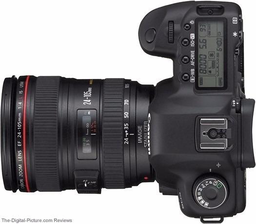 Câmera Canon 70d + Lente 24-105 + 2 Baterias