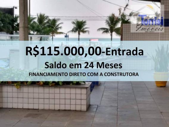 Apartamento Em Praia Grande, 01 Dormitório, No Bairro Boqueirão, Ap2179 - Ap2179