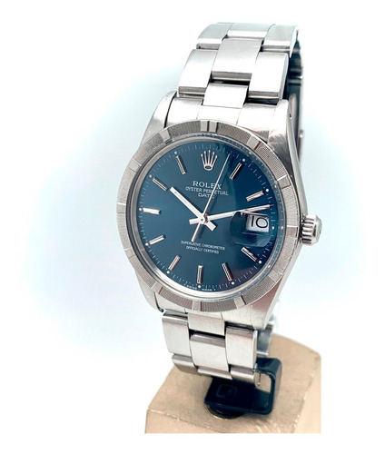 Imagen 1 de 6 de Reloj Rolex Oyster Perpetual Date Acero Coleccion Ref15010