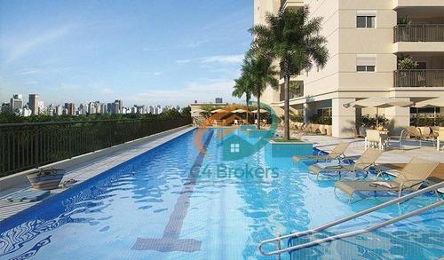 Imagem 1 de 24 de Apartamento  À Venda Bosque Maia 80 Metros 3 Dormitórios Com Suíte 1 Vaga - Ap0169