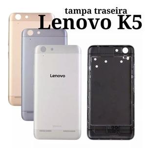 Tampa Traseira Lenovo K5 Original Dourada,prata,cinza Escuro