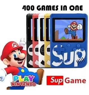 Sup Game Box Portátil Mini Consola 400 Juego Videojuego Av