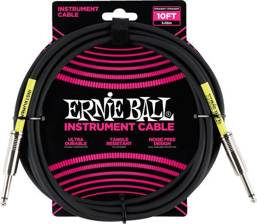 Cable Para Instrumento Plug - Plug Ernie Ball P06048 3m