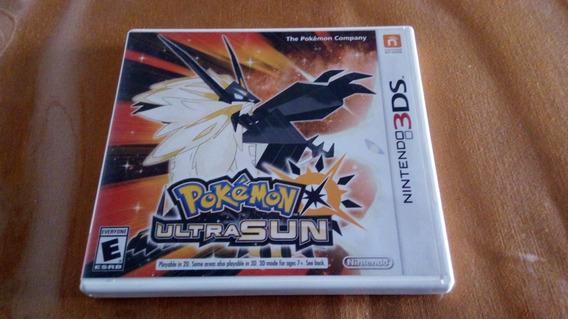 Pokemon Ultra Sun Original Eua Nintendo 3ds