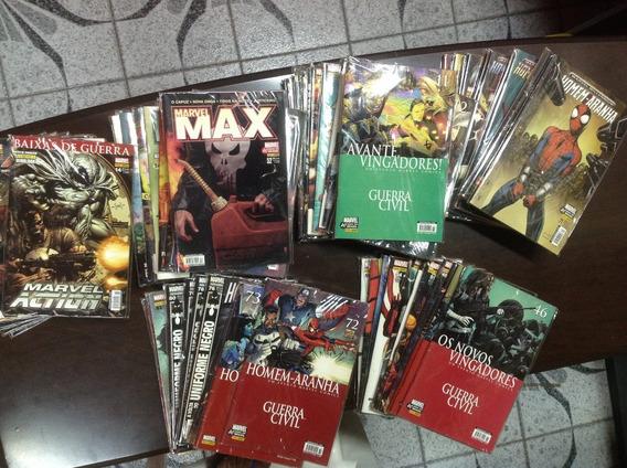 Revista Em Quadrinhos Marvel Panini.