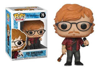Funko Pop Ed Sheeran #76 Rocks Jugueterialeon