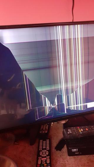 Televisão Aoc Com Defeito Na Tela... 42 Polegadas... Tem Som