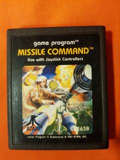 Juego Missile Command Con Manual Atari -local A La Calle