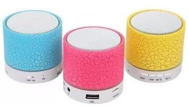 Mini Caixa De Som Com Bluetooth A-08 - Cores Sortidas