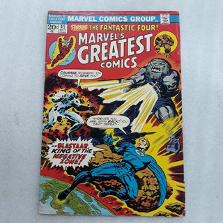 Hq Marvel S Greatest Comics Starring The Fantastic Four 1973