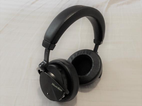 Fone De Ouvido Bluetooth Bluedio T5, Preto