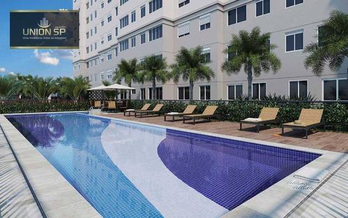 Imagem 1 de 25 de Apartamento Com 2 Dormitórios À Venda, 38 M² Por R$ 238.435,00 - Brás - São Paulo/sp - Ap46242