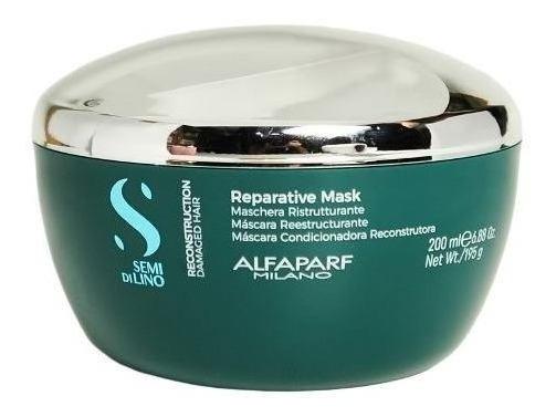Alfaparf Semi Di Lino Mascara Reestructurante X200 Local