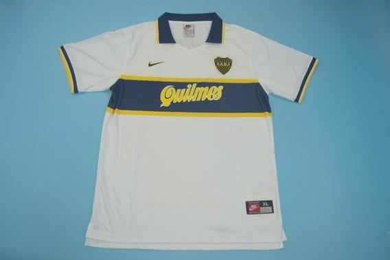 Camisa Boca Juniors Branca 1997 Riquelme 8