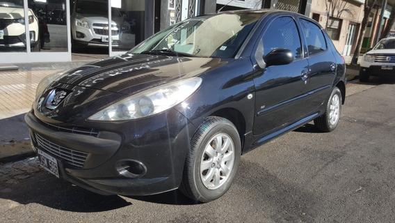 Peugeot 207 Compact 1.4 Hdi Allure Color Negro 2011