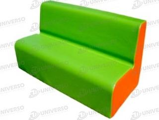 Sofa Colectivo Curvo