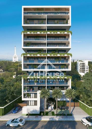 Apartamento En Planos En Zona Céntrica De Santiago Za05 A