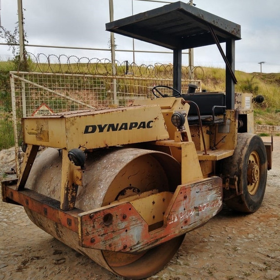 Rolo Compactador Dynapac Ca15 Versão Asfalto 1988