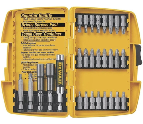 Kit De Bits 29 Pcs Dw2162 Dewalt