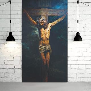 Cuadro Cruz Anatoly Shumkin Cristo Crucificado Listo Pcolgar