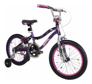 Dynacraft Girls Bmx Street Dirt Bike , Negro Morado ...