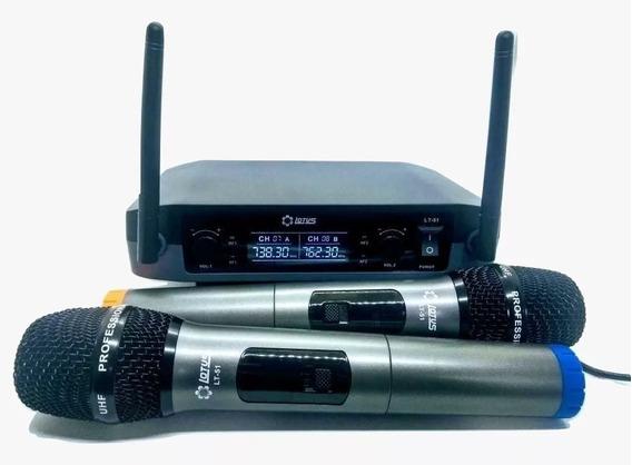 Microfone Duplo Weisre P/ Palestras Igreja Boate