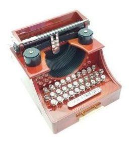Caixa De Som - Máquina De Escrever